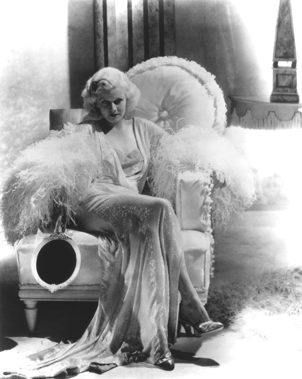 Jean Harlow Dinner at Eight