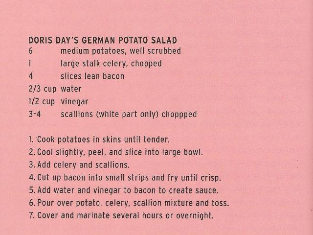 Doris' Potato Salad