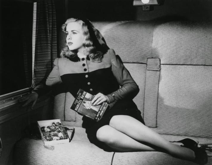 deanna durbin lady on a train